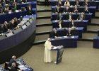 El Papa Francisco, en el Parlamento Europeo y la Comisión.