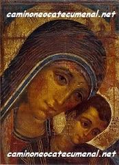 Camino Neocatecumenal. Noticias y cantos del Camino. Oraciones a la Virgen María