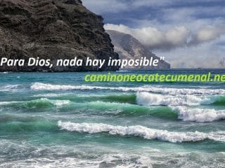 """""""Porque para Dios nada hay imposible"""""""