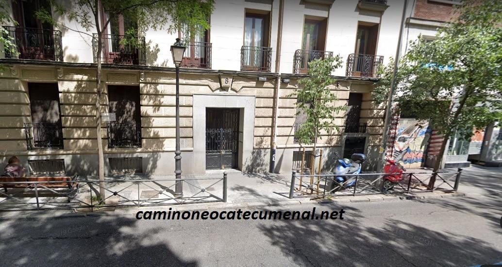 Dirección, teléfono y correo electrónico del Centro Diocesano Neocatecumenal de Madrid
