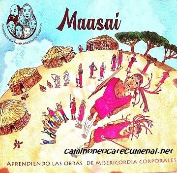 Familia en misión en Tanzania, portada del cuento
