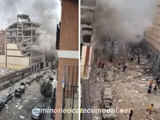 Explosión en Madrid, oración por los afectados