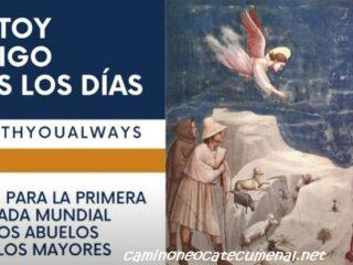 Llega la Jornada Mundial de los Abuelos #IamWithYouAlways